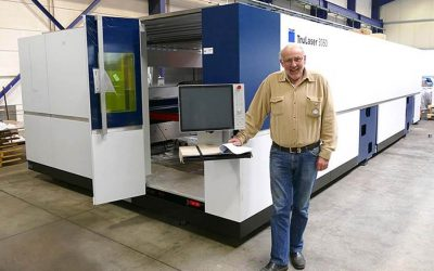 Neuer Lasercutter steigert Produktivität bei SHS